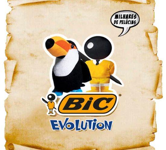 promoção bic evolution galardians