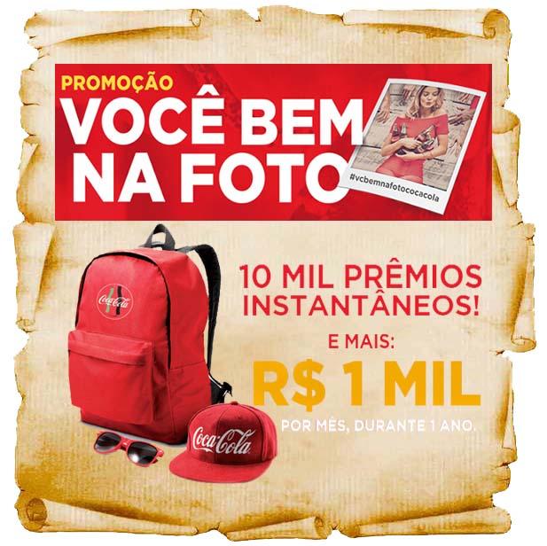 """Promoção da Coca-Cola """"Você Bem Na Foto"""" galardians"""
