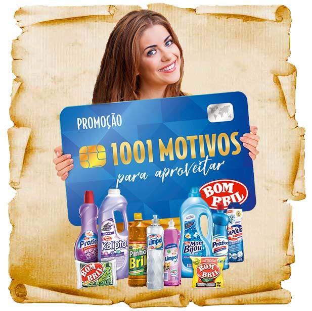 Promoção Bombril 1001 Motivos galardians