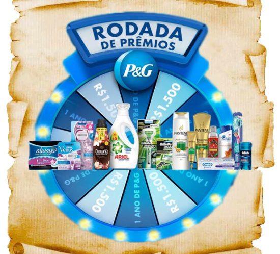 Promoção P&G Rodada de Prêmios galardians