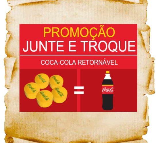 promoçao coca-cola junte e troque