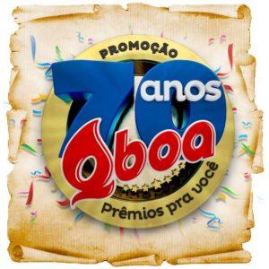 Promoção Qboa 70 anos