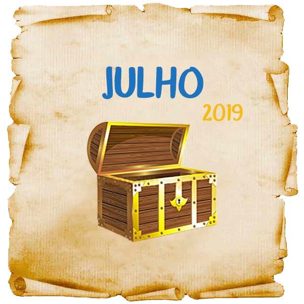 Promoções e concursos culturais em julho de 2019