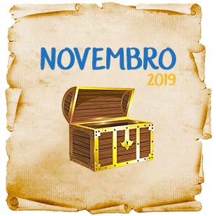 Lista de Promoções e Concursos Culturais em Novembro 2019