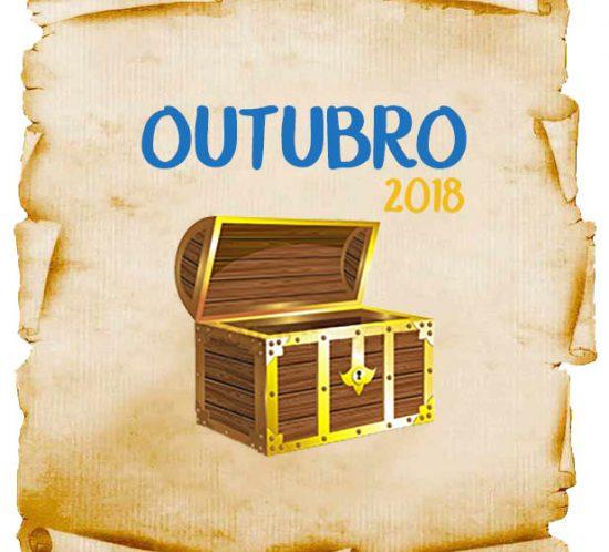 Lista de Promoções e Concursos Culturais em Outubro 2018
