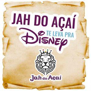 Promoção Jah do Açaí Disney