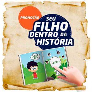 Promoção Seu filho dentro da história