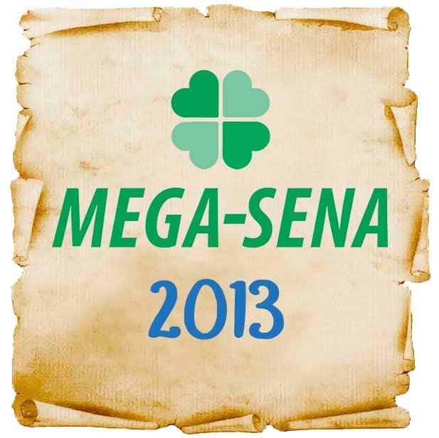Resultados da Mega-Senaem 2013